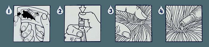 как наносить стронгхолд