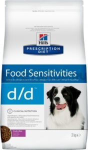 Hills Food Sensitivities d/d