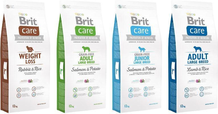 Корма Brit Care для собак