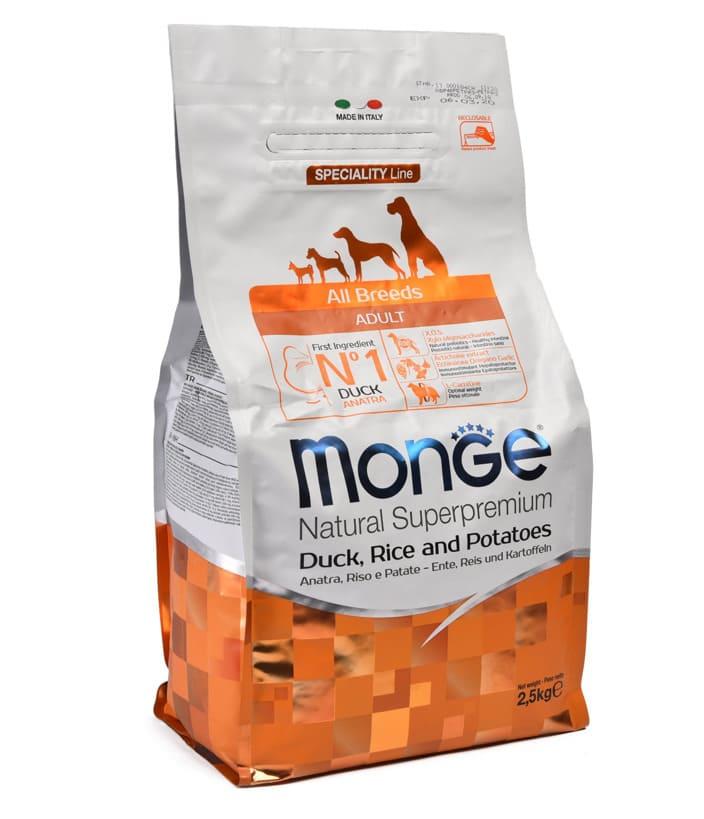 Обзор корма Monge для собак