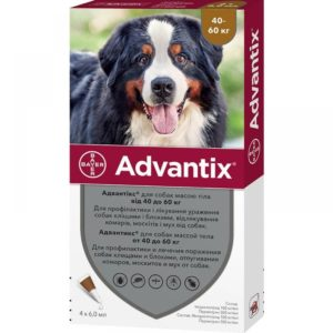 Advantix для крупных пород 40-60 кг